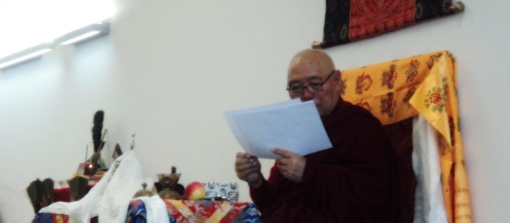 Programm mit spirituellen Meistern